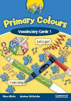 Primary Colours 1 Vocabulary Cards 1 for Kazakhstan