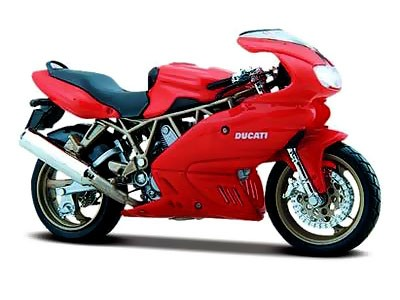 Модель мотоцикла «Ducati Supersport 900», масштаб 1:18