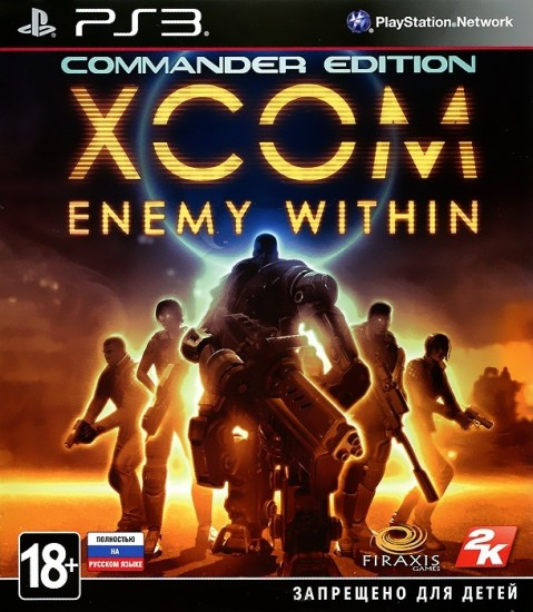 XCOM: Enemy Within. Commander Edition (PS3)