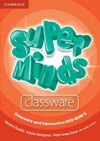 DVD. Super Minds Level 4. Classware and Interactive DVD-ROM