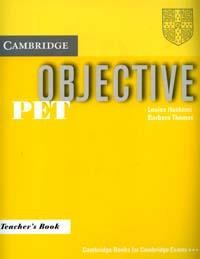 Objective: PET: Teacher`s Book