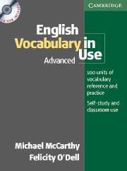 English Vocabulary in Use Advanced / CD-ROM