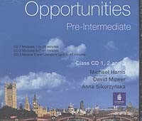 Opportunities: Pre-intermediate: Сlass: 3СD-Rom`а