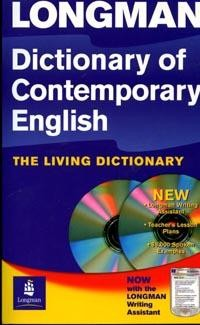 Dictionary of Contemporary English: The Living Dictionary: Now with the Longman writing assistant CD-ROM