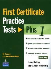 First Certificate: Practice Tests: Plus: Book 1
