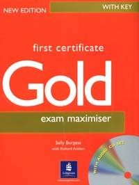 First Certificate: Exam Maximiser: With Key: New Edition  2CD-Rom`а