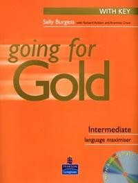 Going for Gold: Intermediate Language: Maximiser: With Key  CD-Rom