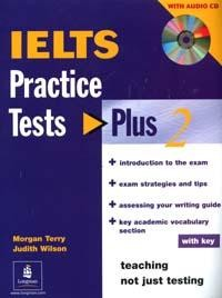 IELTS: Practice: Tests Plus: Book 2: With Key  3CD-Rom`a