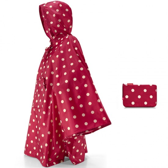 Дождевик «Mini maxi», ruby dots