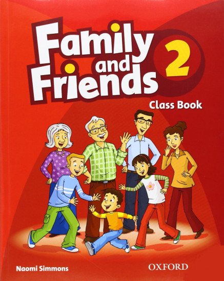Family and Friends 2. Class Book and MultiROM Pack