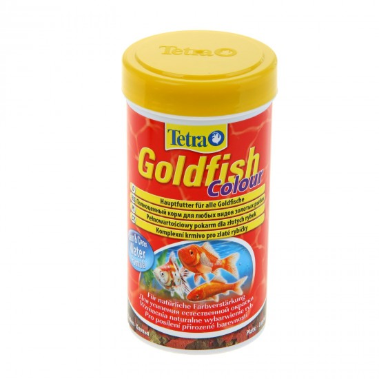 Корм для рыб «Tetra Goldfish Colour» хлопья, 250 мл