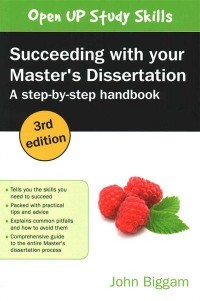 Succeeding with Your Master's Dissertation. A Step-By-Step Handbook