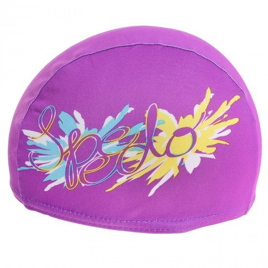 Шапочка для плавания «SPEEDO Polyester Printed Cap Jr»