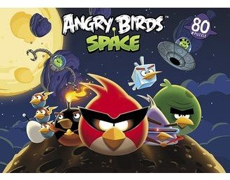 Пазл «Angry birds», 80 элементов