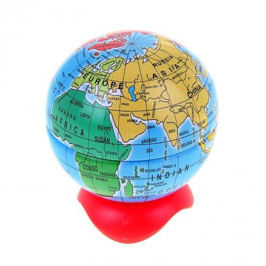 Точилка GLOBE 1 отверстие с контейнером в виде глобуса