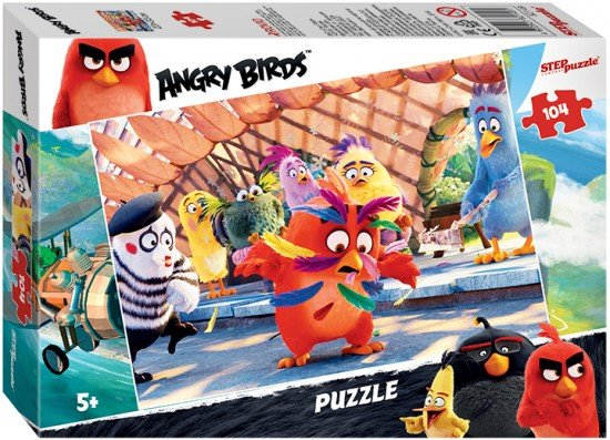 Пазл «Angry Birds» 104 элемента