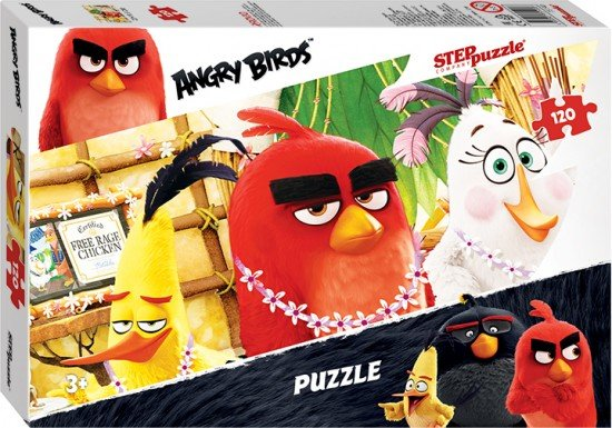 Пазл «Angry Birds» 120 элементов
