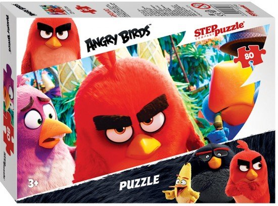 Пазл «Angry Birds» 80 элементов