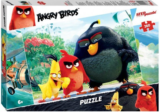 Пазл «Angry Birds» 260 элементов
