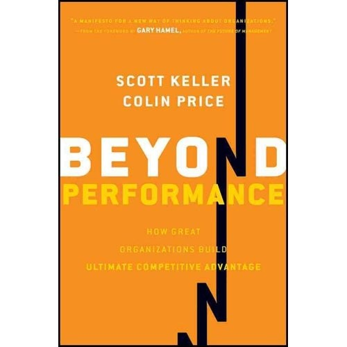 Beyond Performance: How Great Organizations Build Ultimate Competitive Advantage. За сценой