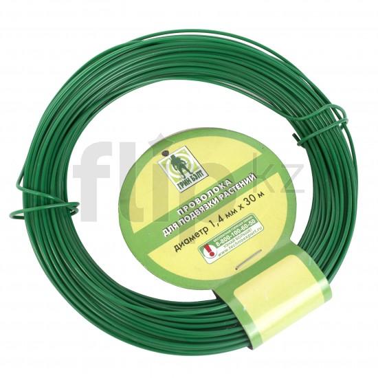 <b>Проволока</b> для подвязки <b>растений</b> 30 м, зеленая — Купить за ...