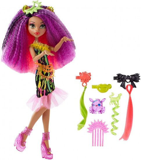 Кукла Monster High «Electrified» Clawdeen Wolf, 28 см