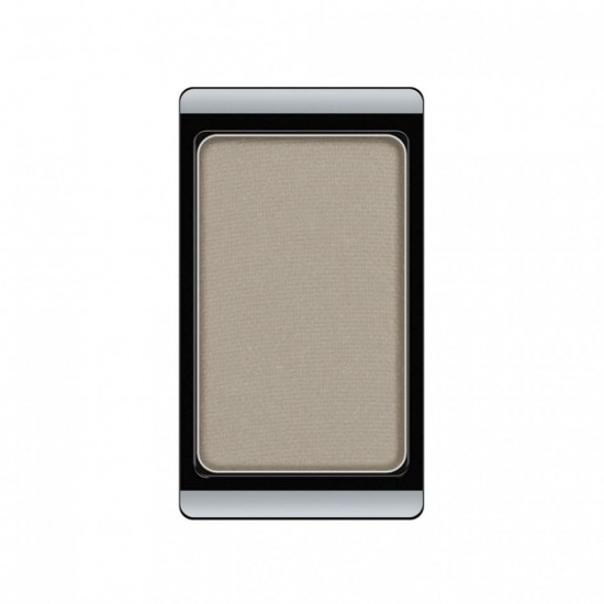 Тени для век «Glamour», оттенок 514 Matt Light Grey Beige