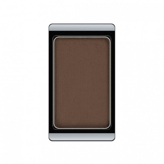 Тени для век «Glamour», оттенок 524 Matt Dark Grey Mocha