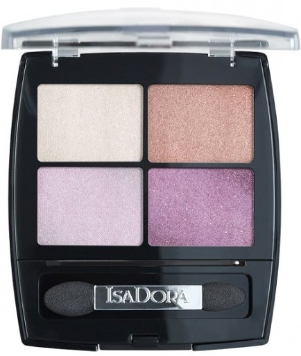 Тени для век IsaDora Eye Shadow Quartet, 27 Amethyst Crystal