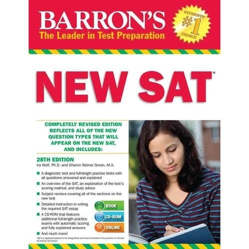 Barron`s New SAT , 28th Edition [With CDROM]