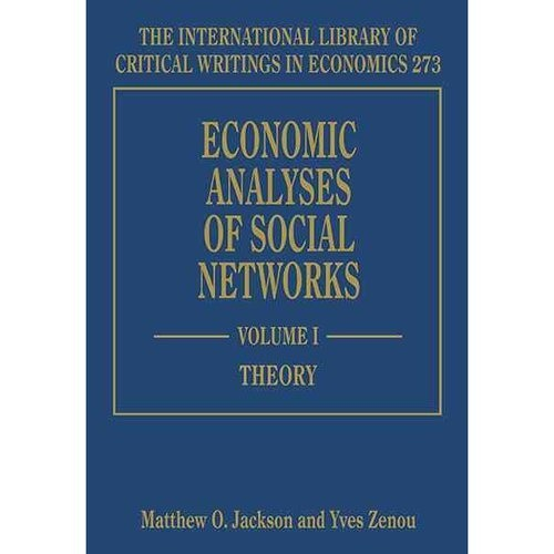 Economic Analyses of Social Networks 1-2 vol