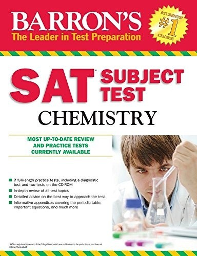 Barron`s SAT Subject Test: Chemistry, 13th Edition