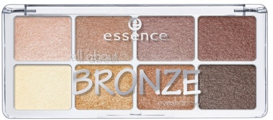 Тени для век Essence All about bronze eyeshadow