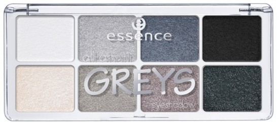 Тени для век  «All about greys», оттенок 04 Greys