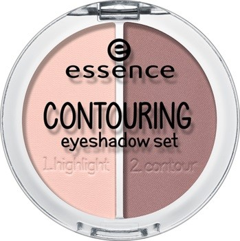 Тени для век Essence Contouring eyeshadow set, 01 Mauve meets marshmallows