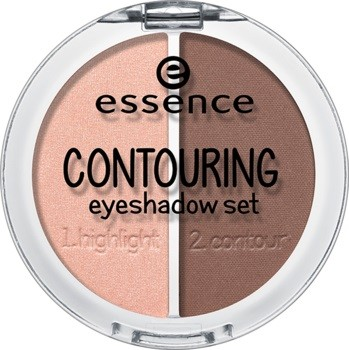 Тени для век «Contouring eyeshadow set», оттенок 02 Brownies with frosting