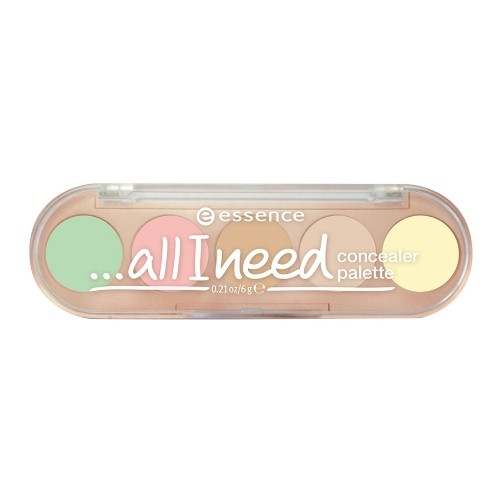 Палетка консилеров «5в1…all I need concealer palette», оттенок 10 Cover it all