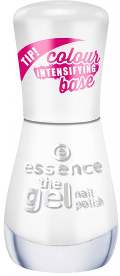 Лак для ногтей Essence The gel nail polish, 33 Wild white ways