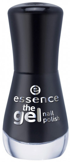 Лак для ногтей Essence The gel nail polish, 46 Black is back