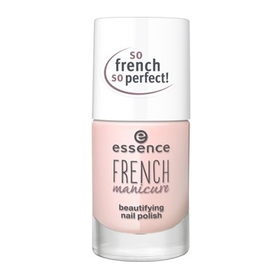 Лак для ногтей Essence French manicure beautifying nail polish, 02 FRENCHs are forever, 10 мл