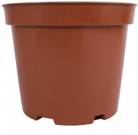 Горшок Тюльпан с поддоном цветок мяты 3,9 литра PALISAD
