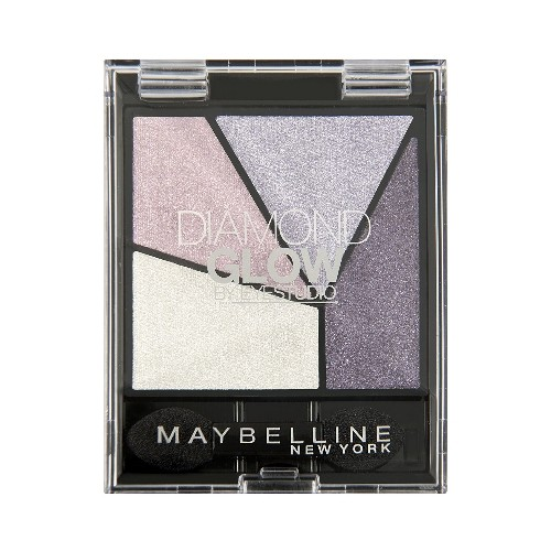 Тени для век Maybelline Diamond Glow, 01 Purple Drama