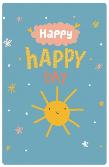 Блокнот «Happy-happy day»
