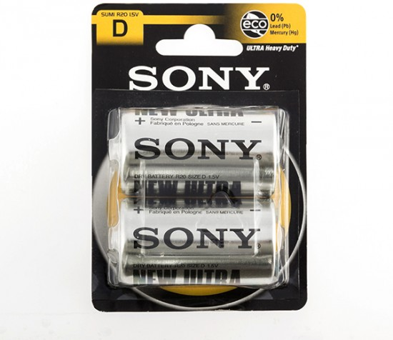 Батарея «Sony» SUMI D-R20 ULTRA HEAVY DUTY
