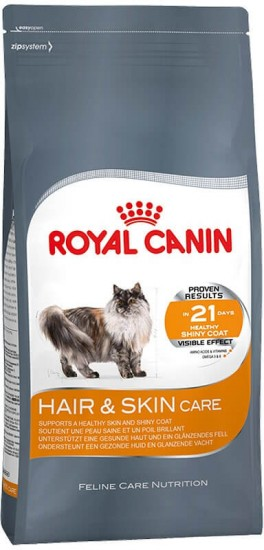 Корм для кошек Royal Canin «Hair and Skin Care» (400 г)