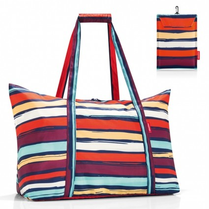 Сумка складная «Mini maxi travelbag», artist stripes