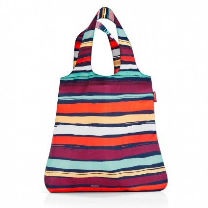 Сумка складная «Mini maxi shopper», artist stripes