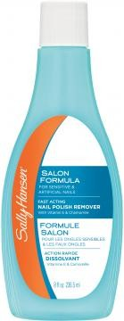 Жидкость для снятия лака Sally Hansen Nail Polish Remover For Sensitive & Artificial Nails, 236,5 мл