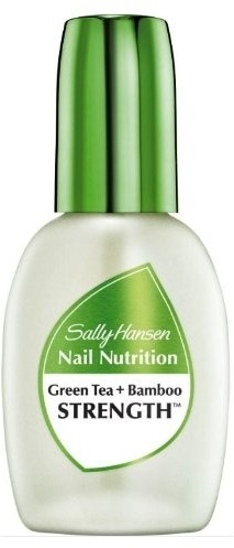 Средство для укрепления ногтей Sally Hansen 2-в-1: Nail Nutrition Green Tea + Bamboo Nail Strengthener