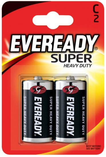 Батарея R14-C «Energizer» Eveready SHD, 2 штуки